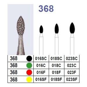 Fraise diamantée N°368 boîte 10 pièces  Fraises diamantées –  :  –  €