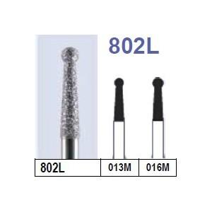 Fraise diamantée N°802L boîte 10 pièces  Rondes –  :  –  €