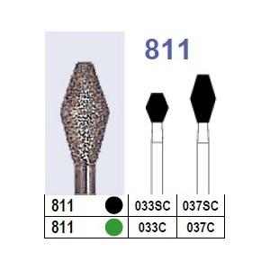 Fraise diamantée N°811 boîte 10 pièces  Fraises diamantées –  :  –  €