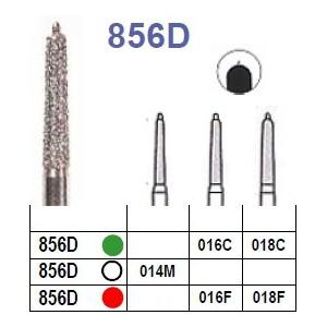 Fraise diamantée N°856D boîte 5 pièces  Fraises diamantées –  : 016C - 018C - 018F - 016F - 014M –  €