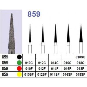 Fraise diamantée N°859 boîte 10 pièces  Fraises diamantées –  :  –  €