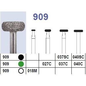 Fraise diamantée N°909 boîte 10 pièces  Fraises diamantées –  :  –  €