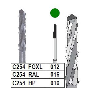 Fraise chirurgicale C254 boîte 4 pièces  Instruments rotatifs –  :  –  €