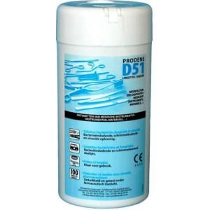 Lingettes D51 CE 0459 par 36  Hygiène et Désinfection –  :  –  €